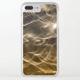 Golden Reflection 0311 Clear iPhone Case