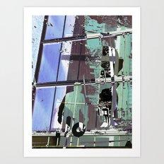 The Suspect Art Print