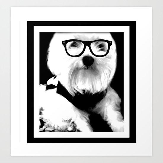 Ewok. A dogs Life  Art Print