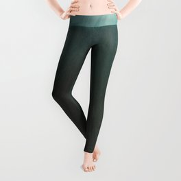 After the Storm, Silver and Green (Vault Sky & Sun) by Arthur Dove Leggings