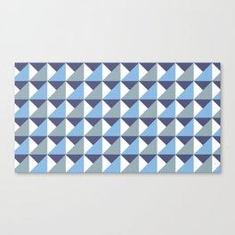 Arctic Pyramids Canvas Print