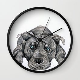 Deed, not breed... Wall Clock