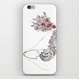 rose shower iPhone Skin