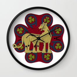 Wampus Wall Clock