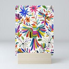 otomi bird Mini Art Print