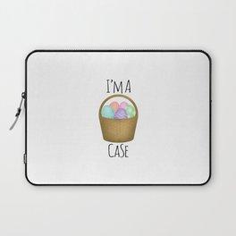 I'm A Basket Case Laptop Sleeve