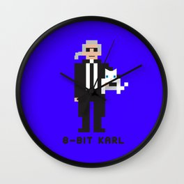 8 Bit Karl Wall Clock