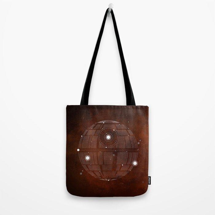 Constellation Death Star Tote Bag