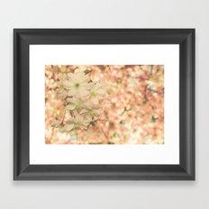 a sunny day in spring Framed Art Print