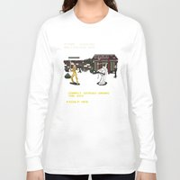 kill bill Long Sleeve T-shirts featuring Kill Bill Arcade Game by NeleVdM
