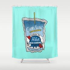 PBR Capri Sun Shower Curtain