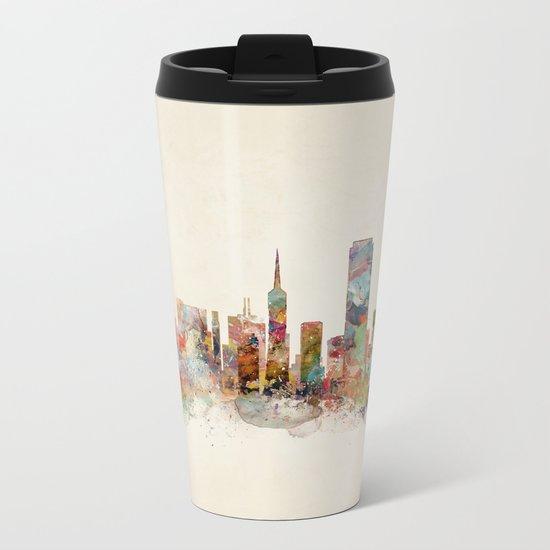 san francisco california Metal Travel Mug