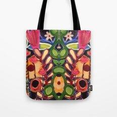 Mirrored Garden Tote Bag