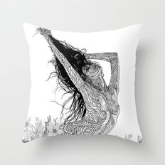 mystic transcendence Throw Pillow