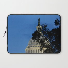 Capitol Building Photography Print Laptop Sleeve