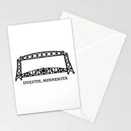 Duluth, MN Aerial Lift Bridge Stationery Cards