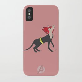 BlackCat Widow iPhone Case
