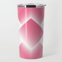 pink color energy tower Travel Mug