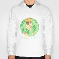 cassandra jean Hoodies featuring Jean by Lena Lang
