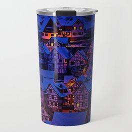 clasic architecture city Travel Mug