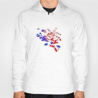 patriotic Hoodies featuring patriotic jigsaw by Albin0