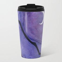 Crescent Moon and Night Sky  Travel Mug