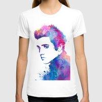 elvis presley T-shirts featuring Elvis Presley by WatercolorGirlArt