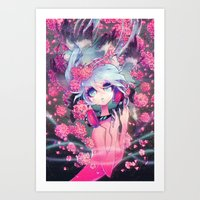 barachan Art Prints featuring boundless by barachan