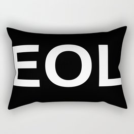 EOL End Of Life Rectangular Pillow