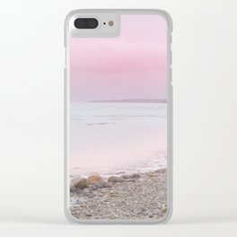 Pastel vibes 65 Clear iPhone Case