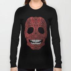 Skull No.8 Chagrin Long Sleeve T-shirt
