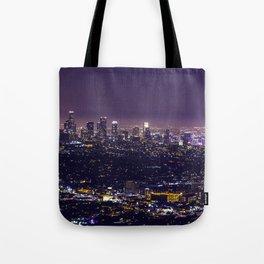 Los Angeles at Night Tote Bag