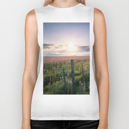 Camas Marsh Sunrise Biker Tank