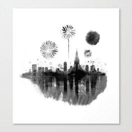 Tokyo Celebration Canvas Print