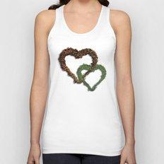 natural hearts Unisex Tank Top