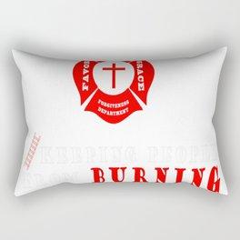 Jesus the original firefighter Rectangular Pillow