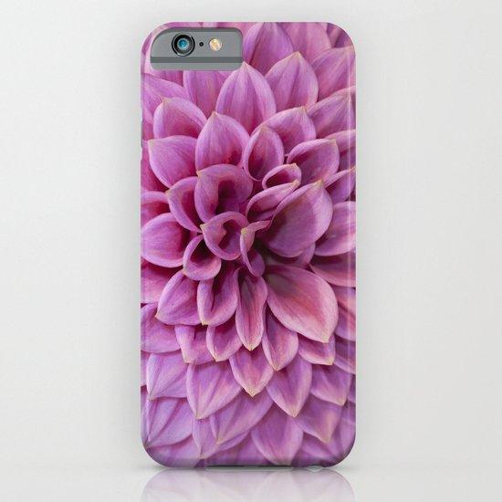 Pink Dahlia iPhone & iPod Case