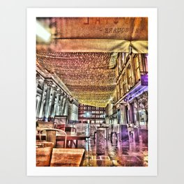 Glasgow Royal Exchange Square Art Print