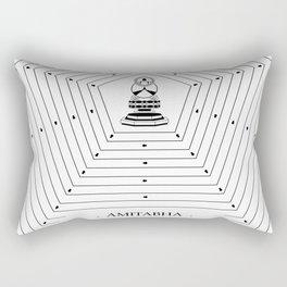 AMITABHA Rectangular Pillow