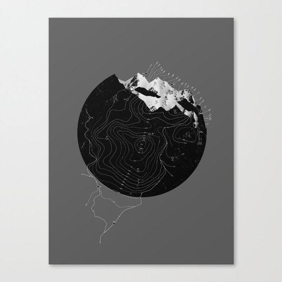 Topos Canvas Print