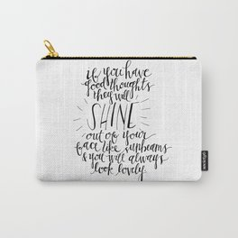 They Will Shine | Roald Dahl Print Carry-All Pouch