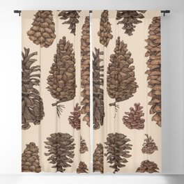 Pinecones Blackout Curtain