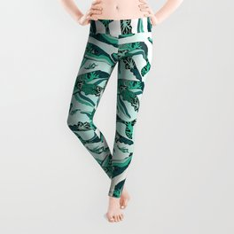 Coral Reef Humpback Whale Leggings