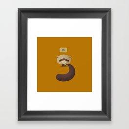 Little Furry Friends - Ferret Framed Art Print