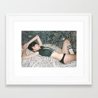sex and the city Framed Art Prints featuring Sex by Christian San Jose
