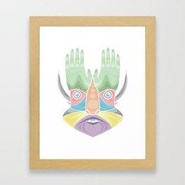 DR GREEN THUMB Framed Art Print