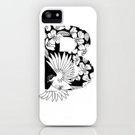 Birdie B iPhone Case