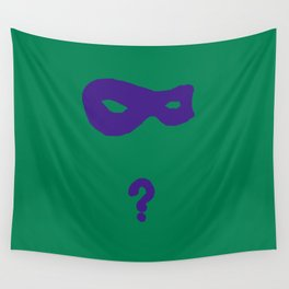 Riddler Icon Wall Tapestry