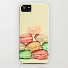 French Macarons Slim Case iPhone (5, 5s)
