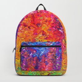 Fluoro Rain Backpack